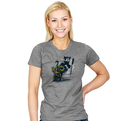 Teenage Mutant Street Art - Womens - T-Shirts - RIPT Apparel