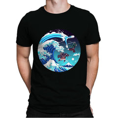 Breath of the Great Wave - Mens Premium - T-Shirts - RIPT Apparel