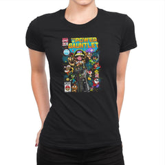 The Power Gauntlet Exclusive - Womens Premium - T-Shirts - RIPT Apparel