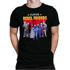 Super Rebel Friends - Mens Premium - T-Shirts - RIPT Apparel