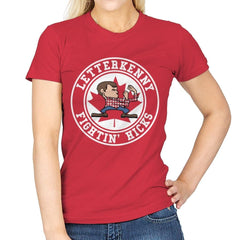 Fightin' Hicks - Womens - T-Shirts - RIPT Apparel