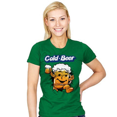 Cold Beer - Womens - T-Shirts - RIPT Apparel