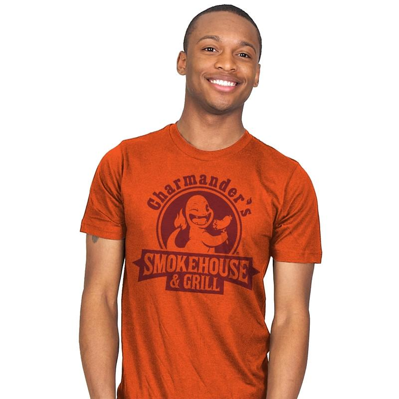 Charmander's Smokehouse & Grill - Mens - T-Shirts - RIPT Apparel