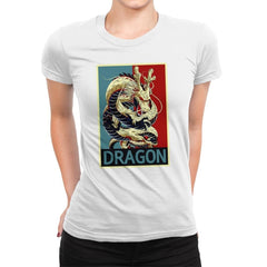DRAGON - Womens Premium - T-Shirts - RIPT Apparel