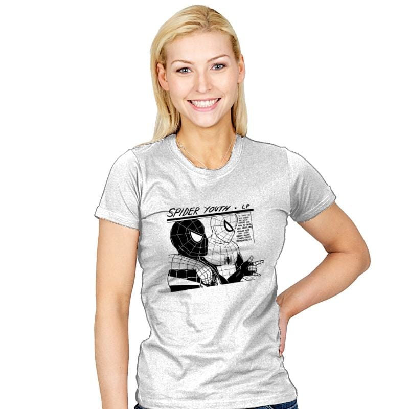 Spider Youth - Womens - T-Shirts - RIPT Apparel