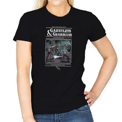 Gauntlets and Guardians Exclusive - Womens - T-Shirts - RIPT Apparel