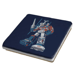 8Dtron Exclusive - Saturday Morning Tees - Coasters - Coasters - RIPT Apparel