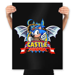 Castle Mania - Prints - Posters - RIPT Apparel