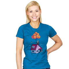 Adventure is Up There - Gamer Paradise - Womens - T-Shirts - RIPT Apparel