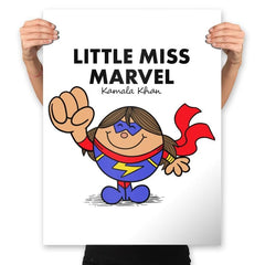 Little Miss Marvel - Prints - Posters - RIPT Apparel
