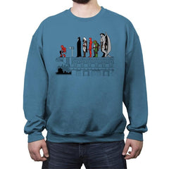 Hero Pose - Crew Neck Sweatshirt - Crew Neck Sweatshirt - RIPT Apparel