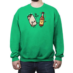 Be my BAErrito - Crew Neck Sweatshirt - Crew Neck Sweatshirt - RIPT Apparel