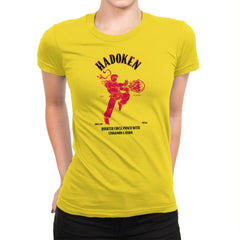 Hadoken Whiskey Exclusive - Womens Premium - T-Shirts - RIPT Apparel