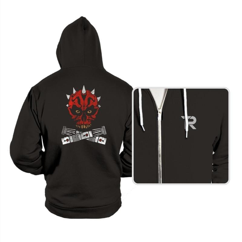 Maul and Cross Sabers - Hoodies - Hoodies - RIPT Apparel