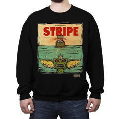 Stripe - Crew Neck Sweatshirt - Crew Neck Sweatshirt - RIPT Apparel