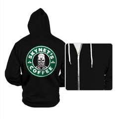 Skynet's Coffee - Hoodies - Hoodies - RIPT Apparel
