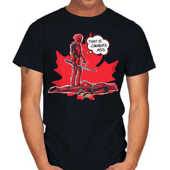 Canada's Ass - Mens - T-Shirts - RIPT Apparel