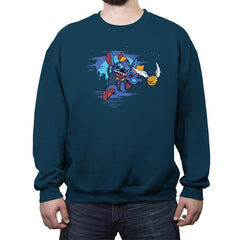Stitches Get Snitches - Crew Neck Sweatshirt - Crew Neck Sweatshirt - RIPT Apparel