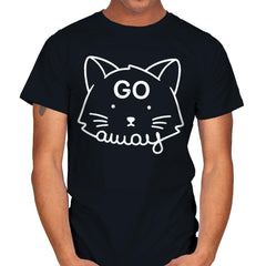 Go Away - Mens - T-Shirts - RIPT Apparel