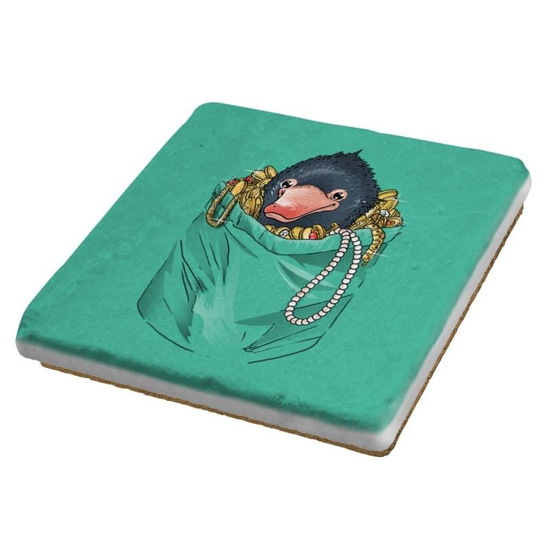 Niffler in your pocket - Coasters - Coasters - RIPT Apparel