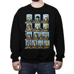 Regen-O-Rama - Crew Neck Sweatshirt - Crew Neck Sweatshirt - RIPT Apparel