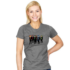 Reservoir Pixels - Womens - T-Shirts - RIPT Apparel