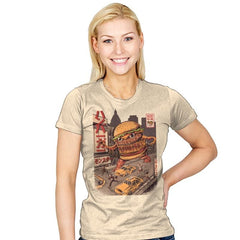 BurgerZilla - Womens - T-Shirts - RIPT Apparel