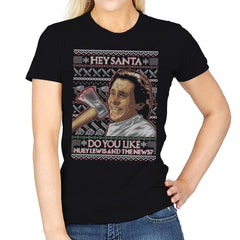 American Santa - Ugly Holiday - Womens - T-Shirts - RIPT Apparel
