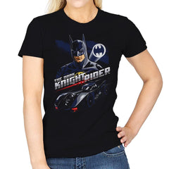The Dark Knight Rider - Womens - T-Shirts - RIPT Apparel
