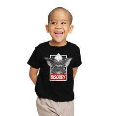 Disobey The Rules - Youth - T-Shirts - RIPT Apparel