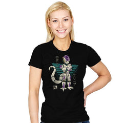 Mecha Emperor - Womens - T-Shirts - RIPT Apparel
