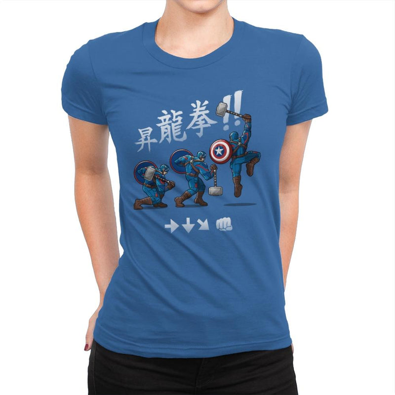 Cap Shoryuken - Anytime - Womens Premium - T-Shirts - RIPT Apparel