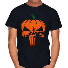 The Pumpkinsher - Mens - T-Shirts - RIPT Apparel