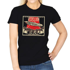 Rebellion - Transport Ship - Womens - T-Shirts - RIPT Apparel