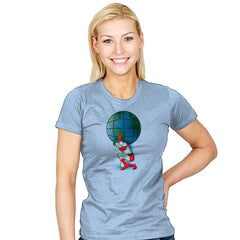 Saving the Planet - Womens - T-Shirts - RIPT Apparel