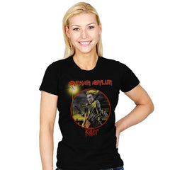 Arkham Asylum Exclusive - Best Seller - Womens - T-Shirts - RIPT Apparel