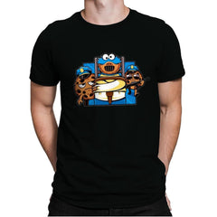 Cookie Devourer - Mens Premium - T-Shirts - RIPT Apparel