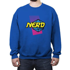 Nerd or Nothing - Crew Neck Sweatshirt - Crew Neck Sweatshirt - RIPT Apparel