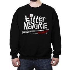 KILLER BY NATURE 13th - Crew Neck Sweatshirt - Crew Neck Sweatshirt - RIPT Apparel