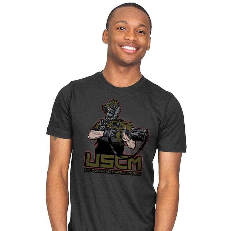 Colonial Facehugger - Mens - T-Shirts - RIPT Apparel