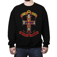 Appetite for Tesseract - Crew Neck Sweatshirt - Crew Neck Sweatshirt - RIPT Apparel