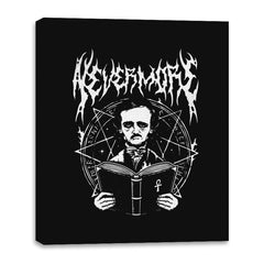 Rocking Nevermore - Canvas Wraps - Canvas Wraps - RIPT Apparel