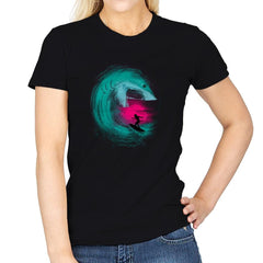 Shark Attack - Back to Nature - Womens - T-Shirts - RIPT Apparel