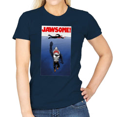 Jawsome Dude - Womens - T-Shirts - RIPT Apparel