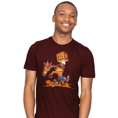 Crash Bash! - Mens - T-Shirts - RIPT Apparel