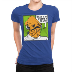 Pop Art Trap - Womens Premium - T-Shirts - RIPT Apparel