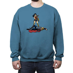 The Godliest of All Time - Crew Neck Sweatshirt - Crew Neck Sweatshirt - RIPT Apparel