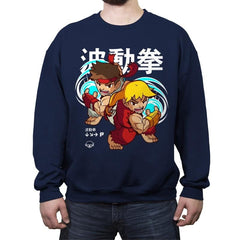 Hadoukawaii - Crew Neck Sweatshirt - Crew Neck Sweatshirt - RIPT Apparel