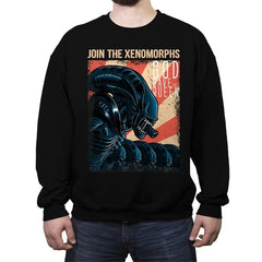 Join the Xenos - Crew Neck Sweatshirt - Crew Neck Sweatshirt - RIPT Apparel