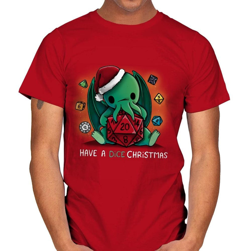 Have a Dice Christmas - Mens - T-Shirts - RIPT Apparel